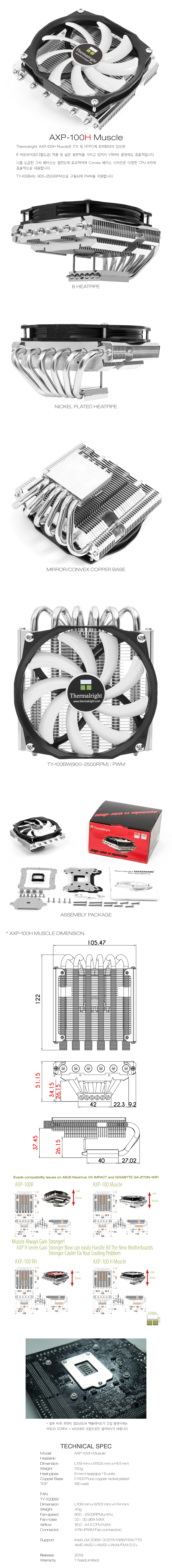 Thermalright  AXP-100H Muscle