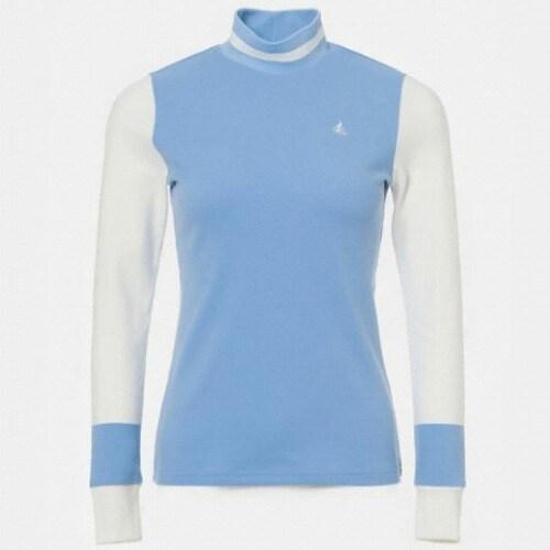 빈폴골프 여성 백기모 배색 터틀넥 티셔츠 BJ9941A20Q_이미지