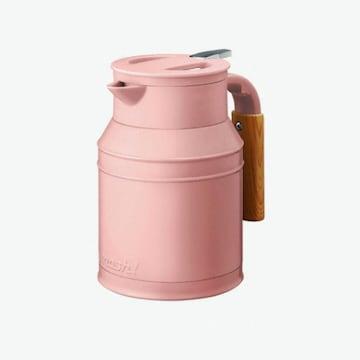 도시샤 모슈 보온보냉 테이블팟 주전자 핑크 1L