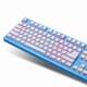 스카이디지탈 NKEYBOARD NKEY-R3 RGB PBT (블루, 청축)_이미지