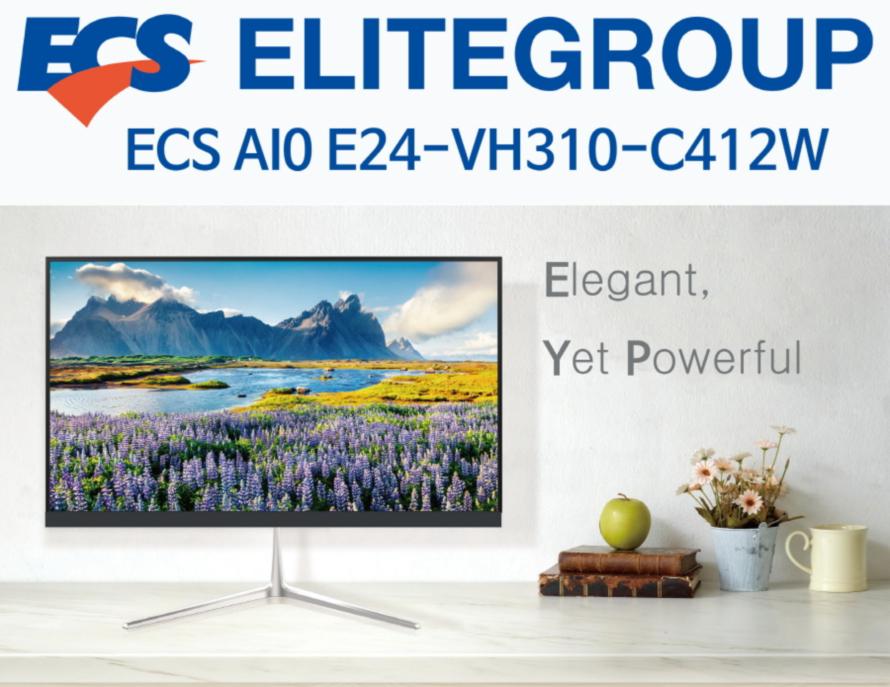ECS AIO E24-VH310-C412W (4GB, M2 120GB)
