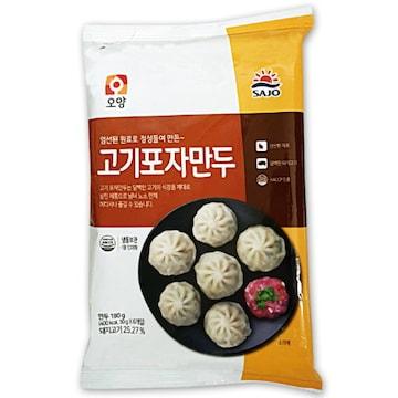 사조오양  고기포자만두 180g (1개)