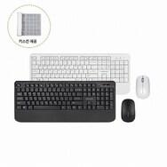 한성컴퓨터 OfficeMaster S3 무선 키보드 마우스 세트 (화이트)