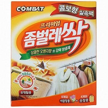 컴배트 프리미엄 좀벌레싹 오렌지향 콤보팩 12개입(1개)