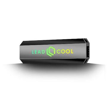 LEADCOOL M.2 SSD 방열판 AUTO RGB (BLACK)_이미지