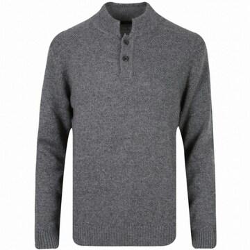 신성통상 올젠 남성 하프버튼 숏 터틀넥 스웨터 ZOY4EU1306