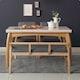 소티디자인 라비에 대리석 원목 식탁세트 1300 (의자2개+벤치1개)_이미지