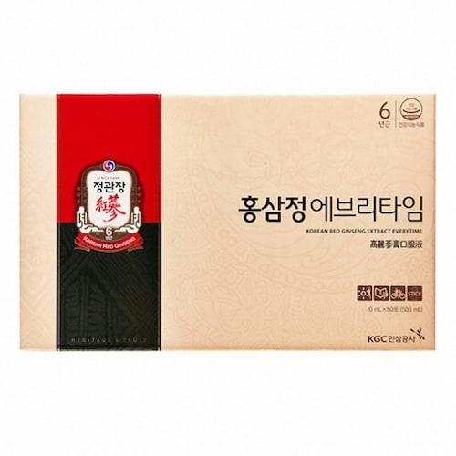 한국인삼공사 정관장 홍삼정 에브리타임 10ml 50스틱 (1개)_이미지