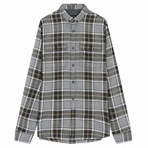 아르마니 아르마니 익스체인지 캐주얼 체크 포켓 셔츠 1417320007_이미지