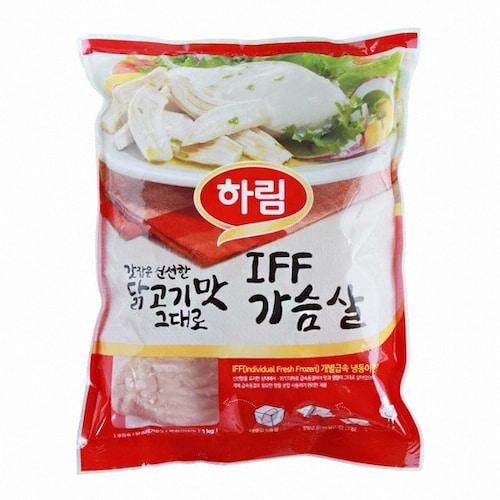 하림  IFF 가슴살 1kg (1개)_이미지