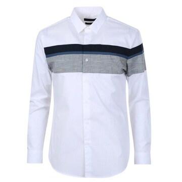 지오지아 스판 블럭 캐쥬얼 셔츠