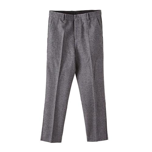 코오롱인더스트리 커스텀멜로우 pipe detail tapered pants CLPAW16011GYX_이미지