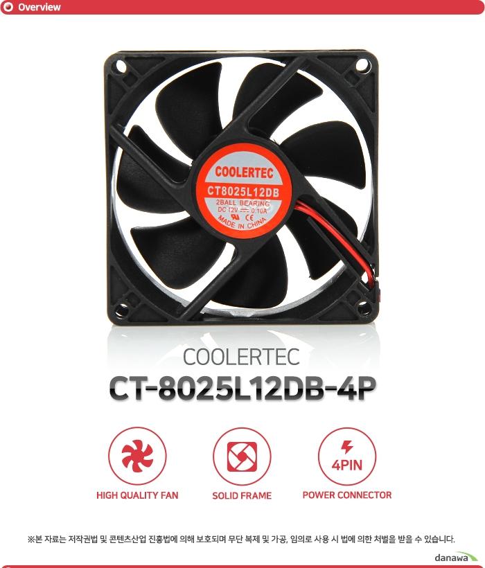 COOLERTEC  CT8025L12DB