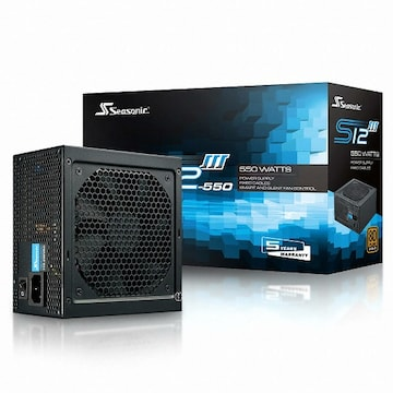 [파워] 시소닉 S12III Bronze SSR-550GB3 Single Rail