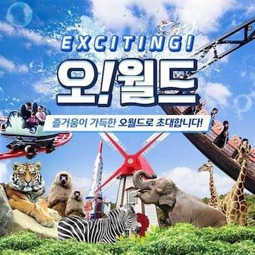 오월드 자유이용권 (대전)(소인)