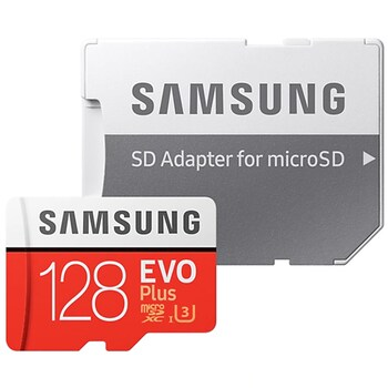 삼성전자 micro SDXC CLASS10 UHS-I U3 EVO Plus 100MB/s 2020년형 (128GB+어댑터)