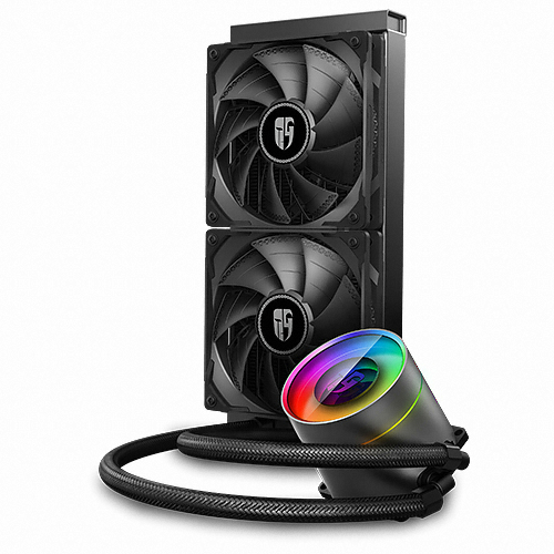 DEEPCOOL GAMER STORM CASTLE 240EX (BLACK)