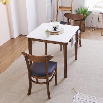 보니애가구 제니 12T 통세라믹 식탁세트 800 (의자2개)_이미지