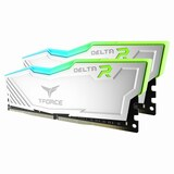 TeamGroup T-Force DDR4 32G PC4-25600 CL16 Delta RGB 화이트 (16Gx2) 가넷