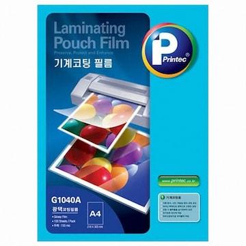 프린텍  기계코팅 필름 G1040A A4 150mic (100매)