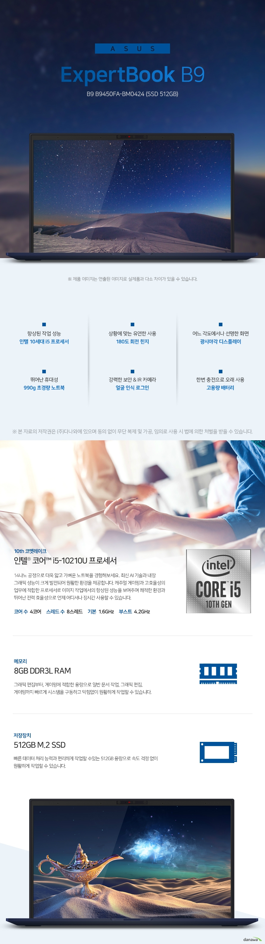 ASUS ExpertBook B9 B9450FA-BM0424 (SSD 512GB)