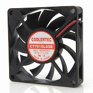 COOLERTEC CT-7015L05B-2P 볼 저소음(5V)