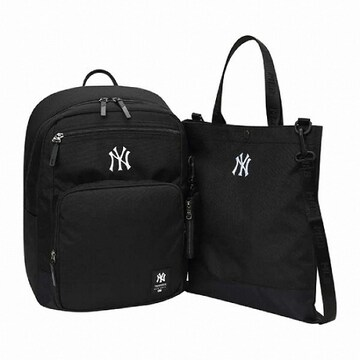 MLB키즈 MLB키즈 뉴욕 양키스 슈퍼팬 심플 로고 백팩 세트 (72BG05911-50L)