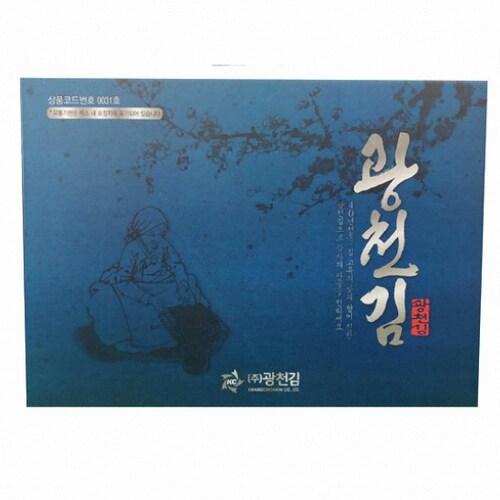 소문난삼부자 광천 파래김 전장 8개입 160g (1개)_이미지