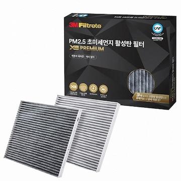 3M PM2.5 초미세먼지 활성탄 필터 X3 프리미엄 X7205(1개)
