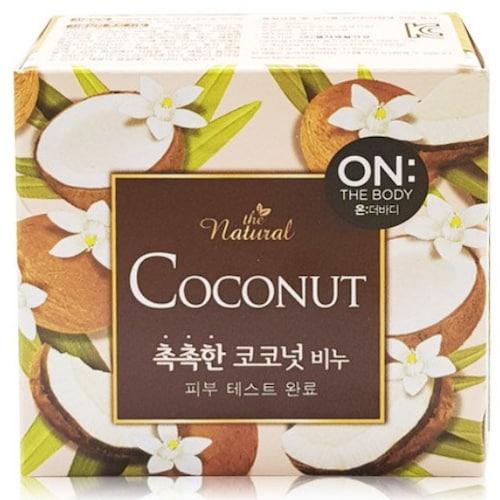 온더바디 더 내추럴 촉촉한 코코넛 비누 90g (12개)_이미지