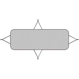 가쯔 에어컨 실외기 커버 대형 (1개)_이미지
