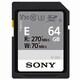 SONY SDXC CLASS10 UHS-II U3 V30 270MB/s (64GB)_이미지