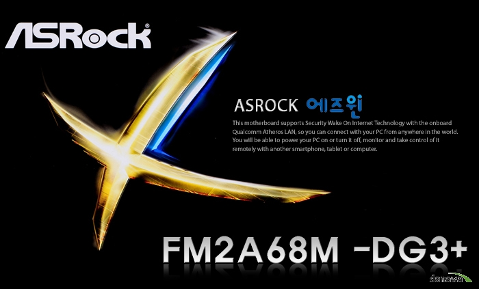 ASRock FM2A68M -DG3+