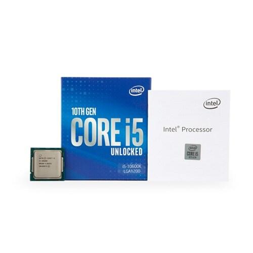 인텔 코어i5-10세대 10600K (코멧레이크S) (정품)_이미지