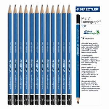 스테들러  마스 루모그래프 100 연필 (12개)