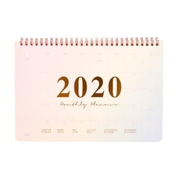 아트박스 POOM(품) 2020 그라데이션 스프링 스케줄러_이미지