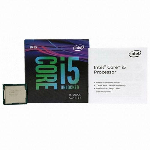 인텔 코어i5-9세대 9600K (커피레이크-R) (병행수입 박스)_이미지