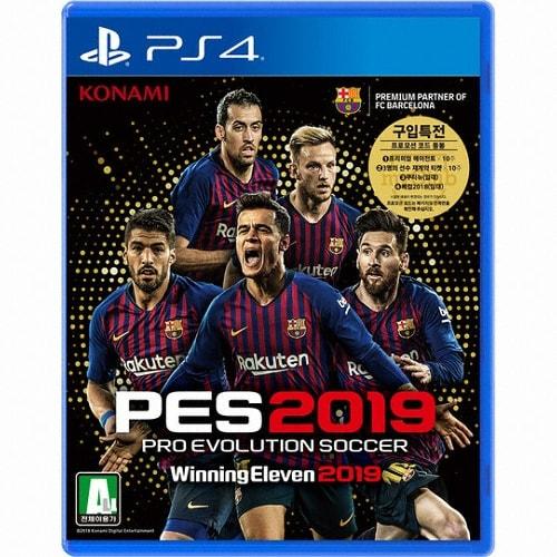 PES 2019 - 프로 에볼루션 사커 2019 (Pro Evolution Soccer 2019) PS4 한글판,일반판_이미지