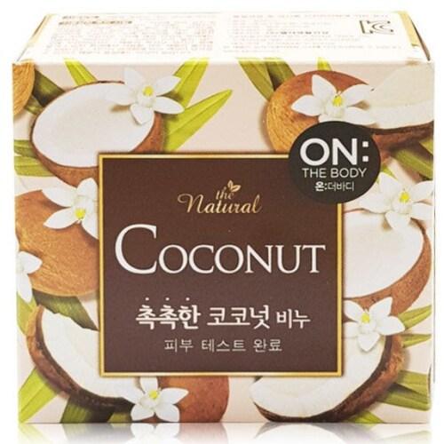 온더바디 더 내추럴 촉촉한 코코넛 비누 90g (16개)_이미지
