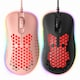 ABKO HACKER A800 3389 초경량 RGB 게이밍 마우스 (핑크)_이미지