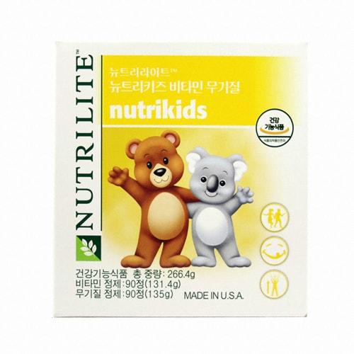 암웨이 뉴트리라이트 뉴트리키즈 비타민 무기질 90정 (1개)