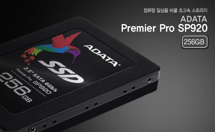 컴퓨팅 일상을 바꿀 초고속 스토리지    ADATA Premier Pro SP920 256GB