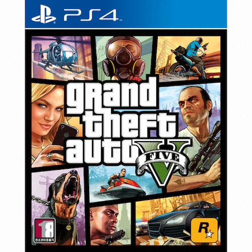 GTA 5 (Grand Theft Auto 5) PS4 일반판_이미지