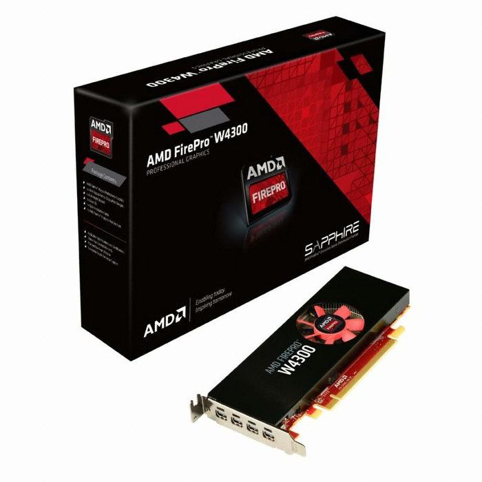 AMD FirePro W4300 D5 4GB 블루존