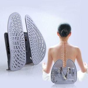 애플박스 듀얼오토 허리받침의자 자동차시트 척추관리 받침대_이미지