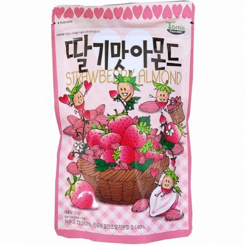 길림양행 딸기맛 아몬드 210g (10개)_이미지
