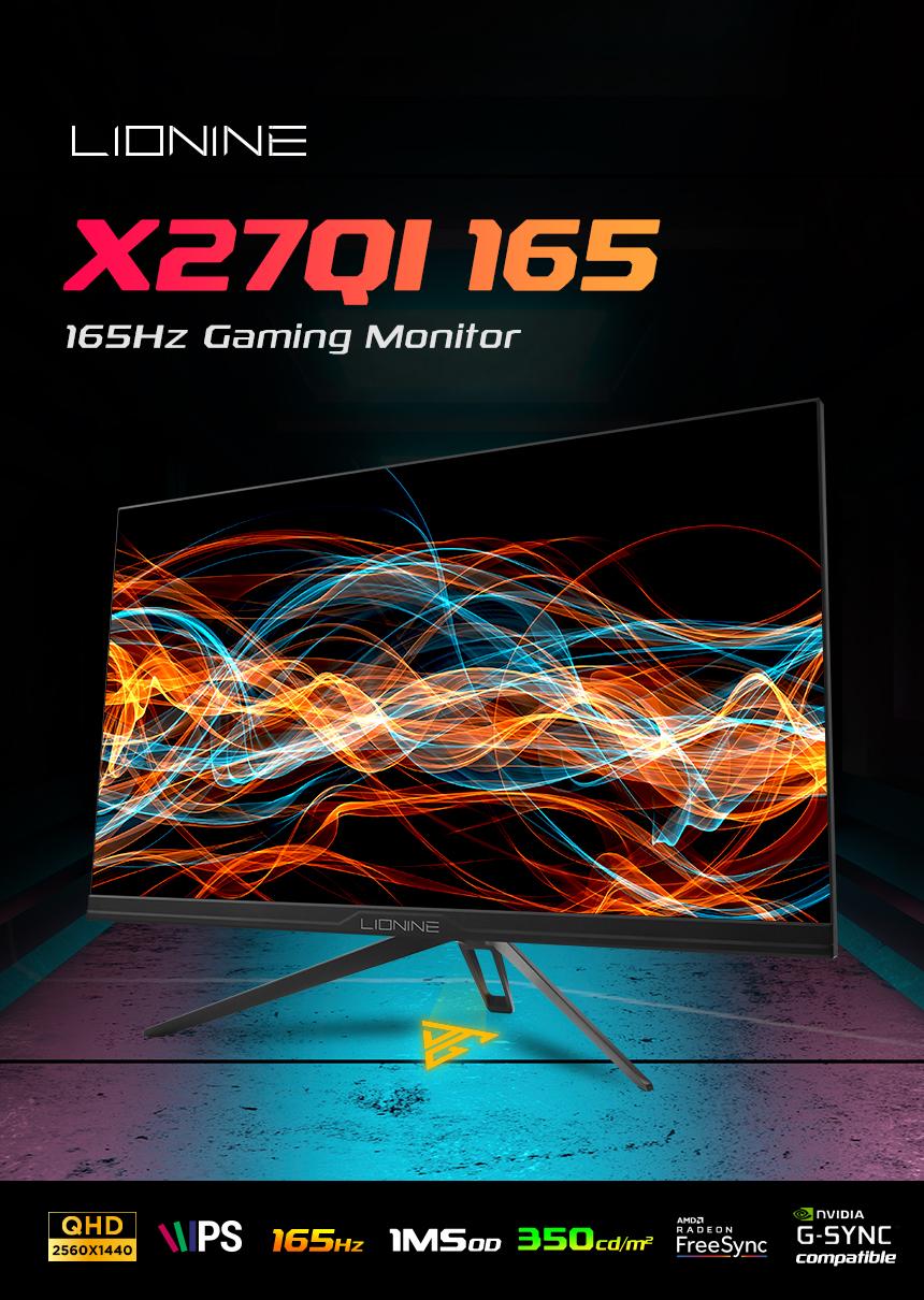 주연테크 리오나인 X27QI-165 IPS QHD 게이밍