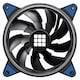 마이크로닉스 TEMPEST2 Ring Dual Impeller 120 (Blue)_이미지