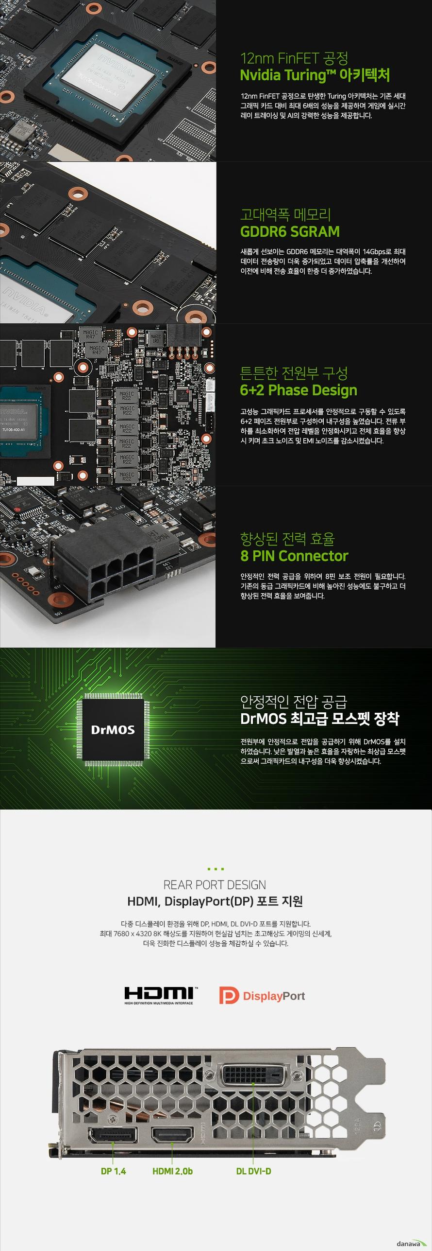 이엠텍  지포스 RTX 2060 STORM X Dual OC D6 6GB