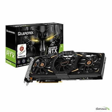 리드텍 WinFast 지포스 RTX 2070 SUPER HURRICANE D6 8GB
